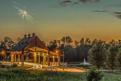 #5  Covered bridge at Grand Chevalle Parkway