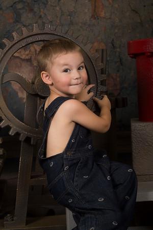 Daisy Hamrick Grand Dad's Garage Model
