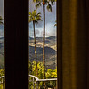 North Gothic Suite Bedroom - Santa Lucia Coast Mountains View