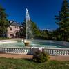 Fountain & Barn