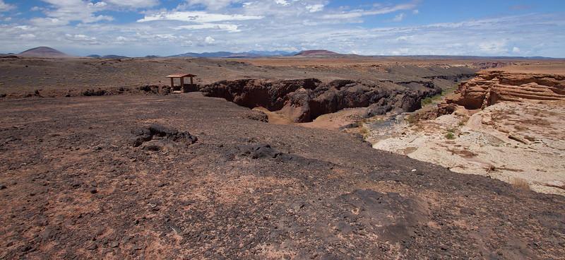 2 Grand Falls-Lava versus sandstone