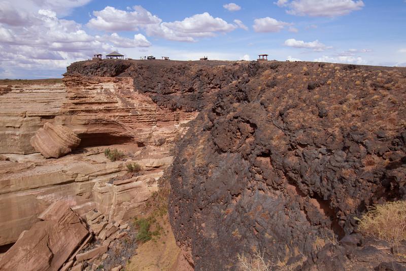 4 Imagine when the lava crossed the river