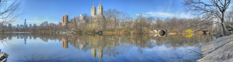 The Lake, Central Park, NYC