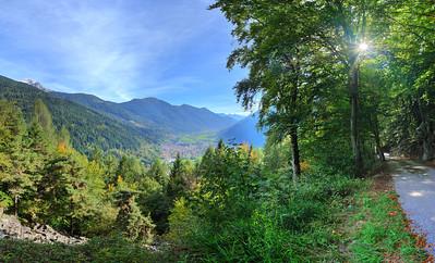 Descent from Cavria, Carisolo, Italy