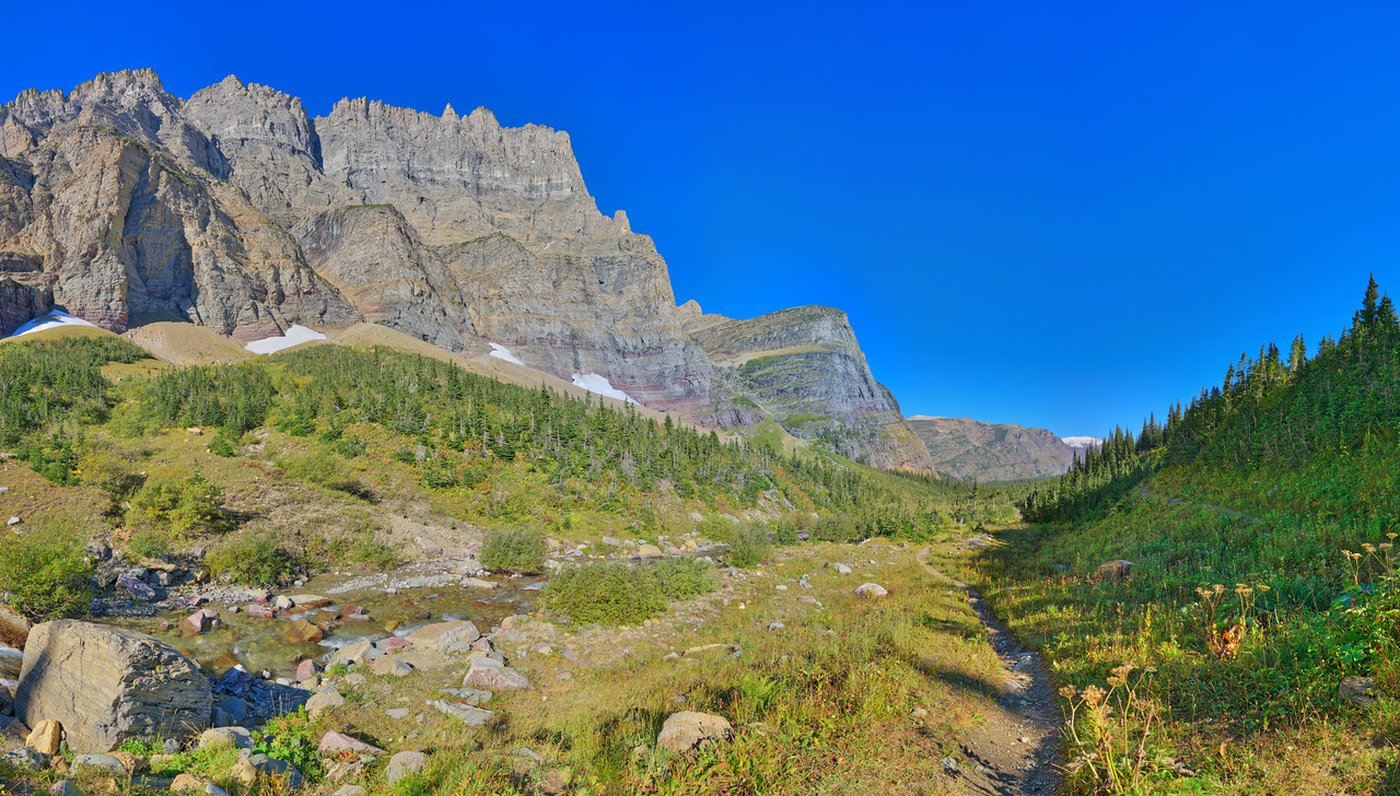 Piegan Pass Trail Vista, Glacier National Park, MT