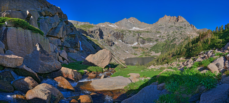 Black Lake Vista #2, Rocky Mountain National Park, CO