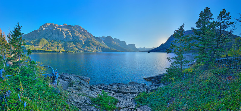 Wild Goose Island Overlook #1, Glacier National Park, MT