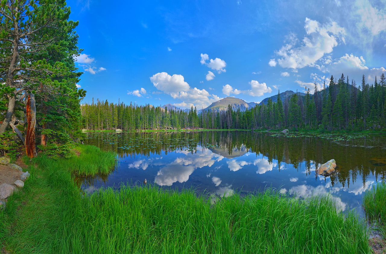 Nymph Lake, Rocky Mountain National Park, CO