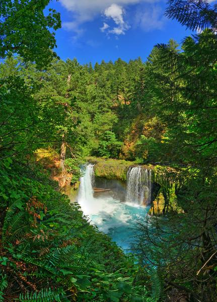 Spirit Falls, Carson, WA