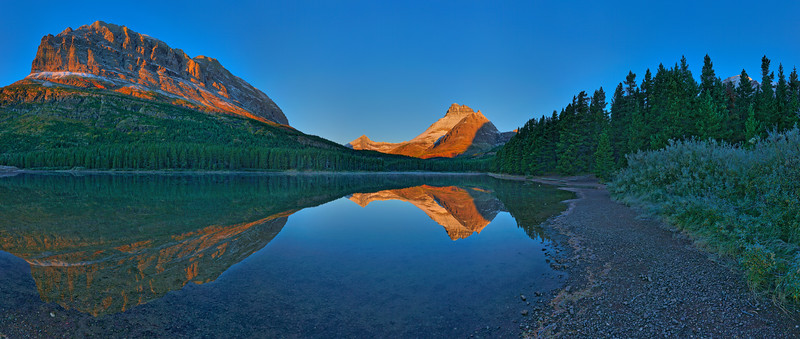 Fishercap Lake, Glacier National Park, MT