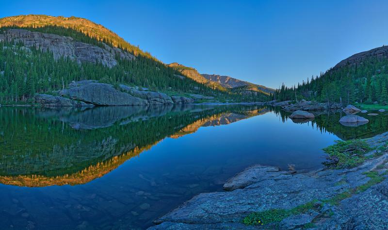 Mills Lake, Rocky Mountain National Park, CO