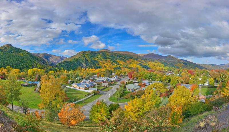 Arrowtown Vista #2, South Island, New Zealand