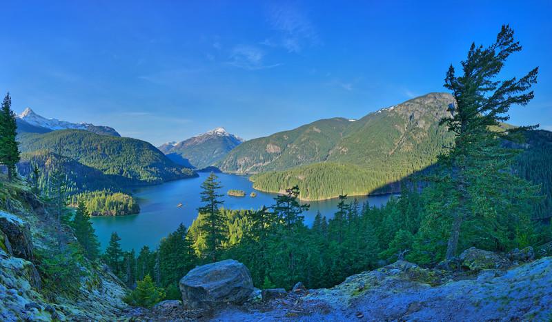 Diablo Lake Overlook, North Cascades Highway, WA