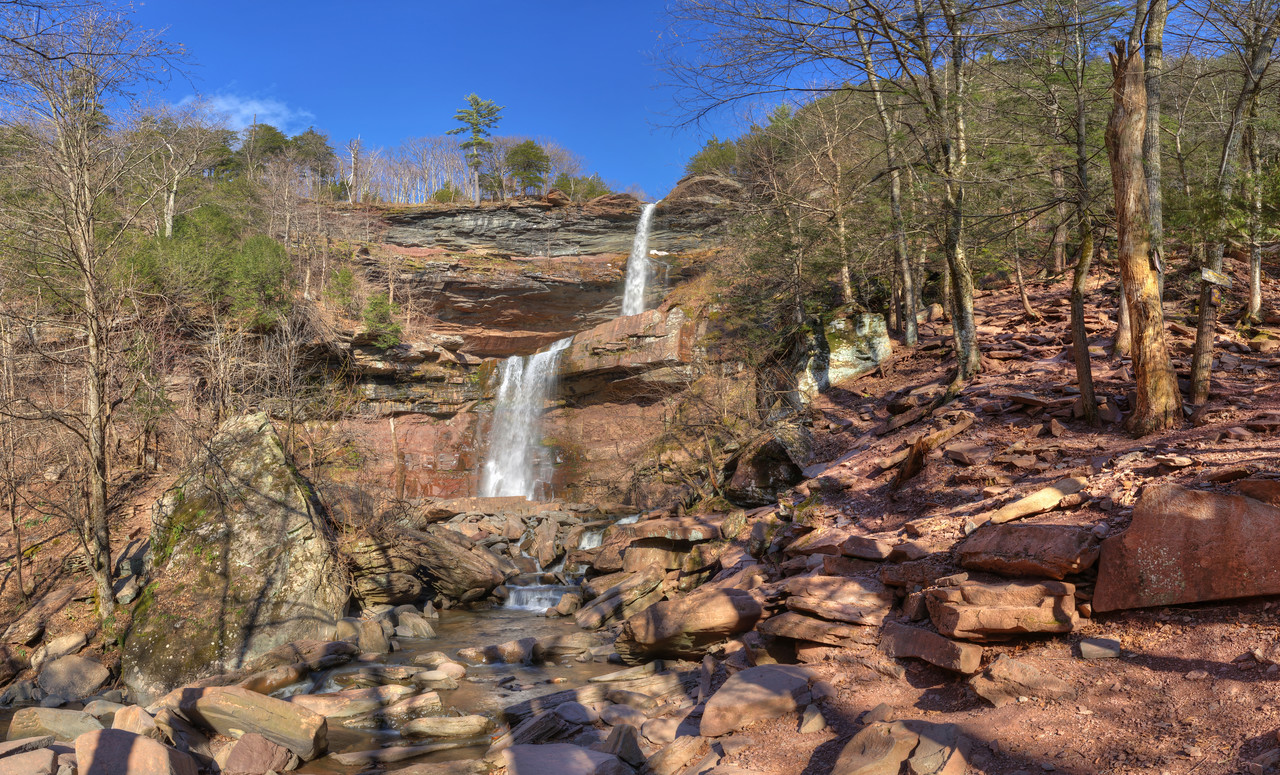 Kaaterskill Falls, Hunter, NY