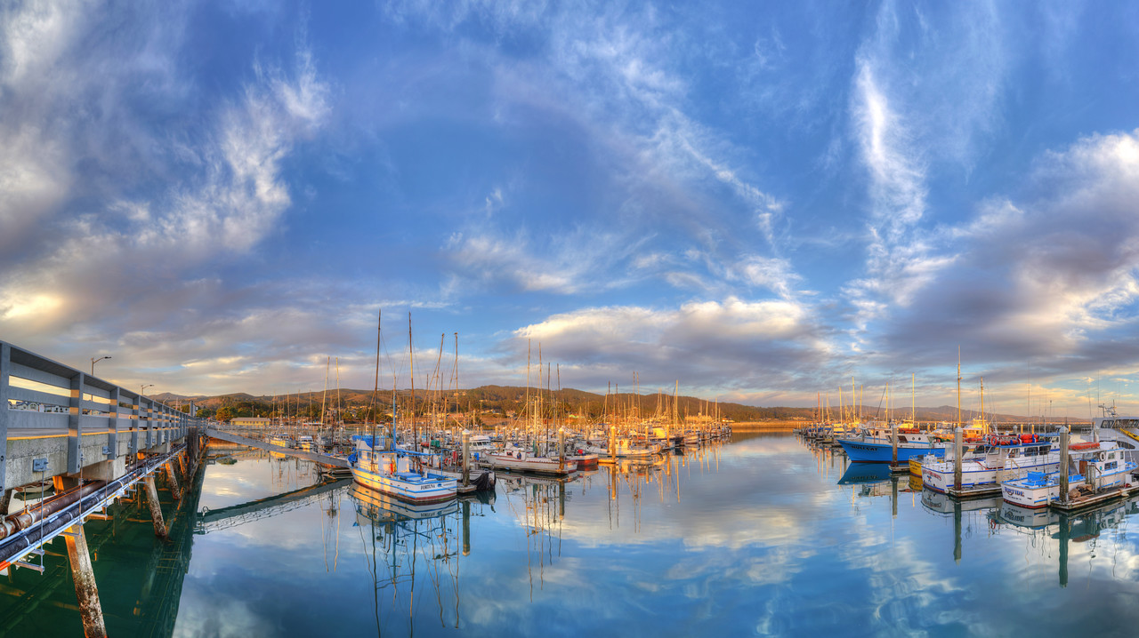 Pillar Point Harbor Sunset #3, Half Moon Bay, CA