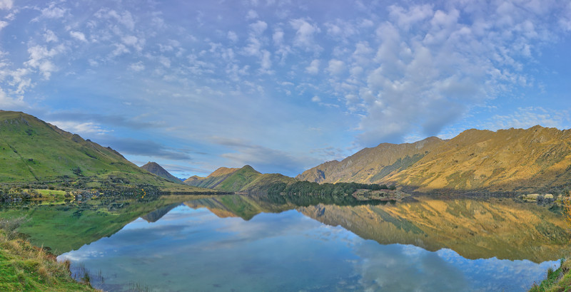 Moke Lake, Queenstown, South Island, New Zealand