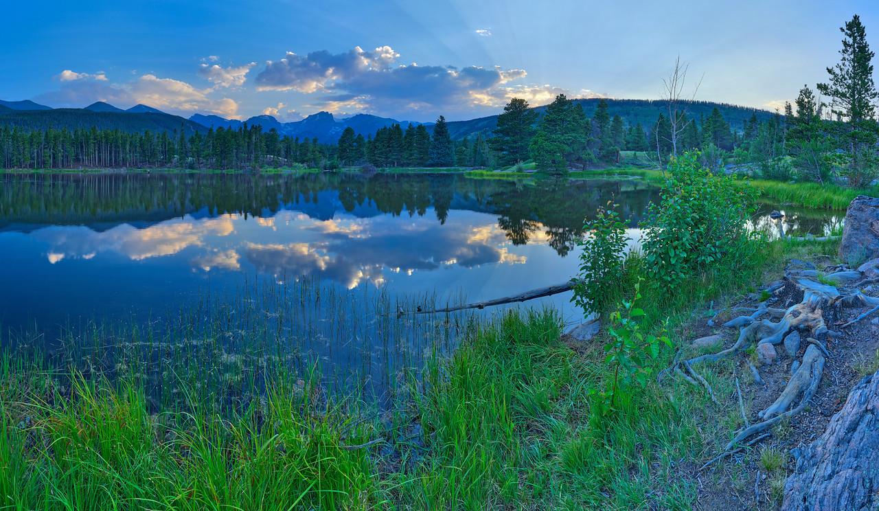 Sprague Lake, Rocky Mountain National Park, CO