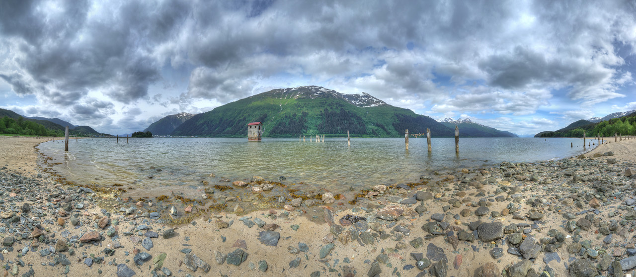 Sandy Beach Pumphouse, Juneau, AK