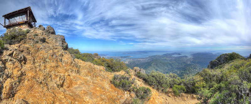 East Peak, Mt. Tamalpais, CA