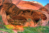 Double Arch Alcove in Kolob Canyon,  Zion National Park, UT