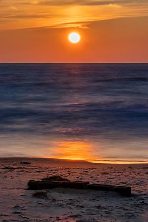 Sun's Descent