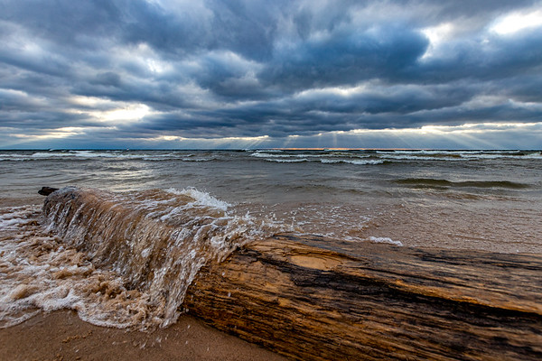 Drama and Driftwood in Grand Haven