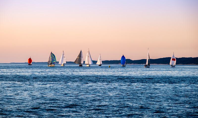 Mighty Lake Michigan Armada