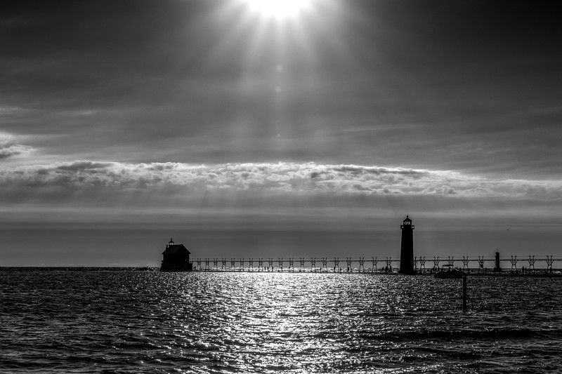 Illumination Over Grand Haven