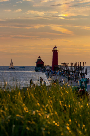 A Summer Day in Grand Haven