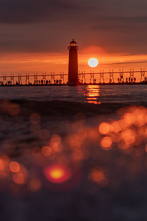 Grand Haven Sizzles at Sunset