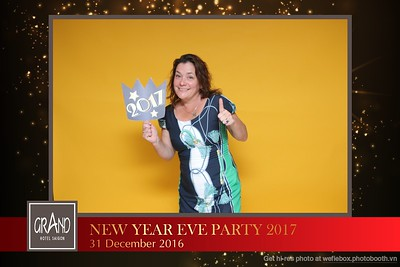 Grand Hotel Saigon - New Year Eve Party - 2016/12/31