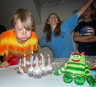 One of our youth celebrated his birthday during the trip! (Photo by Fred Mast)