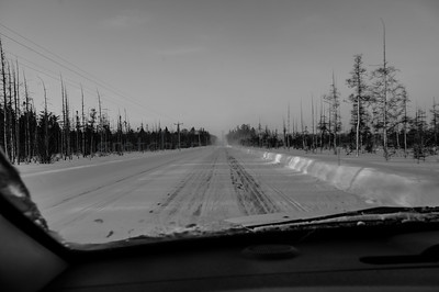 M-77 South to Seney, MI