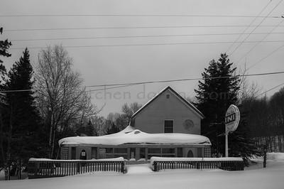 Closed for the Season   West Bay Diner   Grand Marais, MI