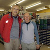 Martin Kubik with Buck Menson.  Buck's Hardware supports BWA Committee 's mission.