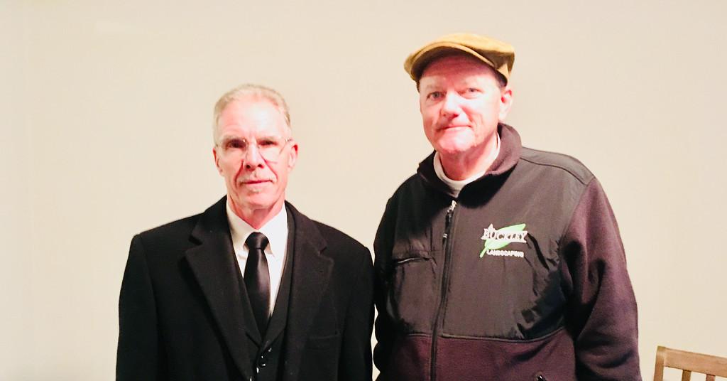. Jay Mason of Lowell and Brad McGrath of Walpole