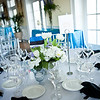 Black napkins made guests happy due to linen and worked into our color theme.  JMC silver napkin rings.