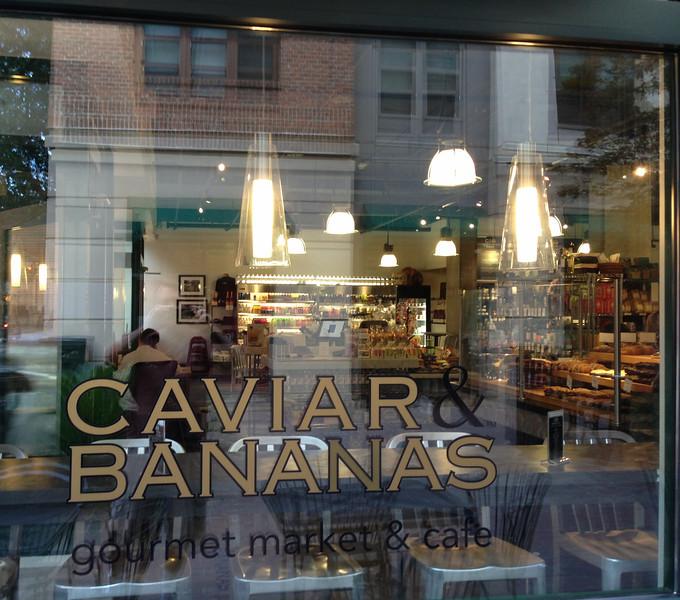 Caviar & Bananas Catering Division Opening