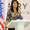 Governor Haley addresses the guests.