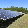 Ribbon Cutting for a New Solar Panel Farm