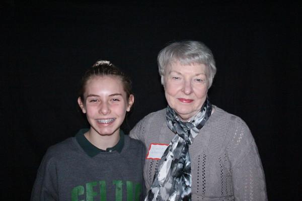 Grand Pals Day-Roanoke Catholic School 11-10-17
