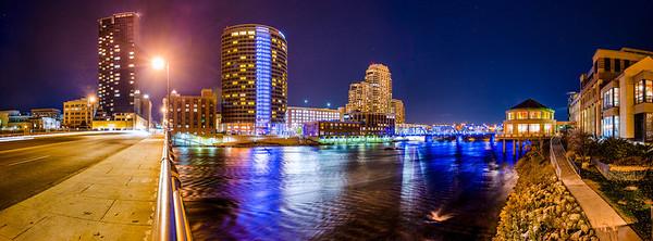 Grand Rapids from Pearl Street.  Photography by Matt Gubancsik.