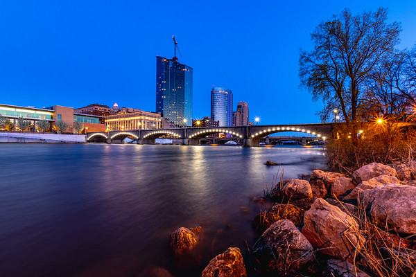 Grand Rapids from the Banks of the Grand River