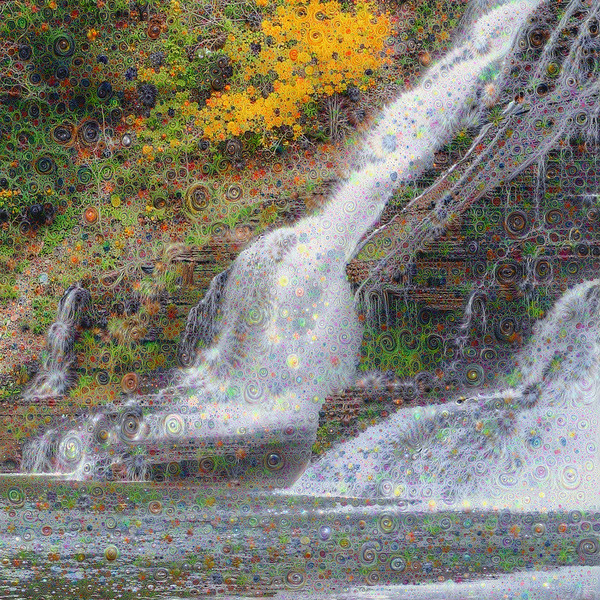 "Ithaca Falls - Grand Scale ""Two-Pass"" Detail"