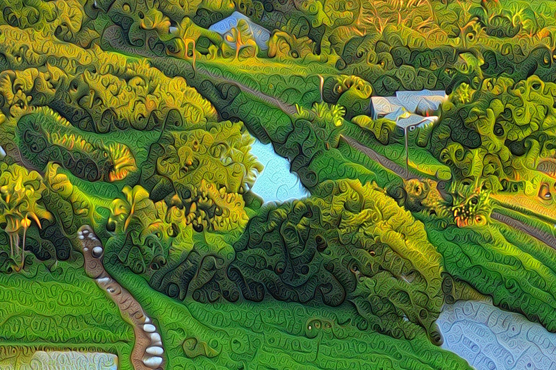 Hanalei Lookout - Grand Scale Detail (Close-Up)