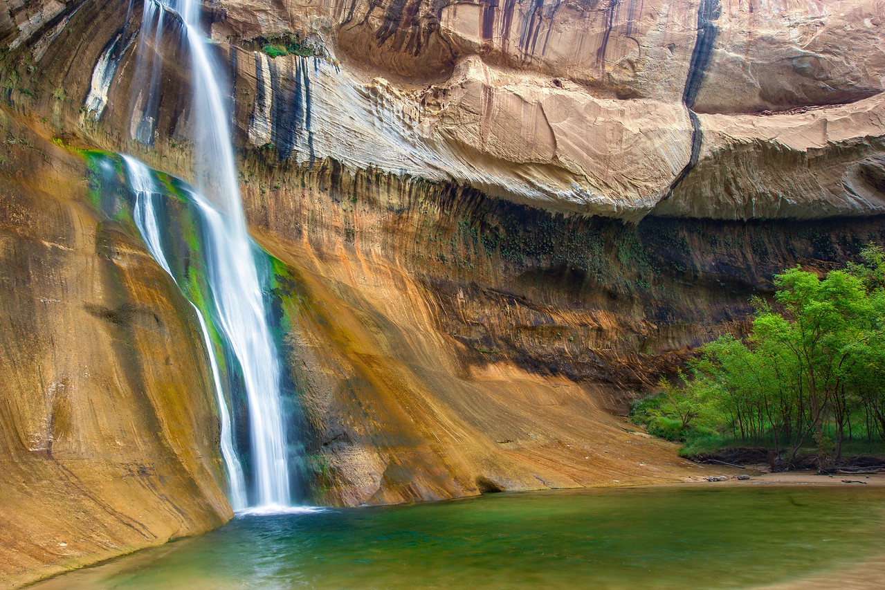 """Lower Calf Creek Falls"""