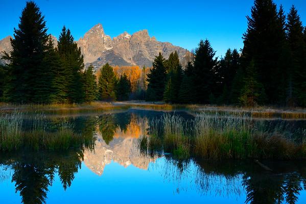 Grand Teton NP Landscape