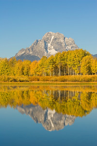 Mt Moran and Oxbow Bend