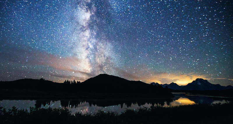 Milky Way Over Oxbow Bend No. 3