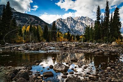 Cottonwood Creek Reflection
